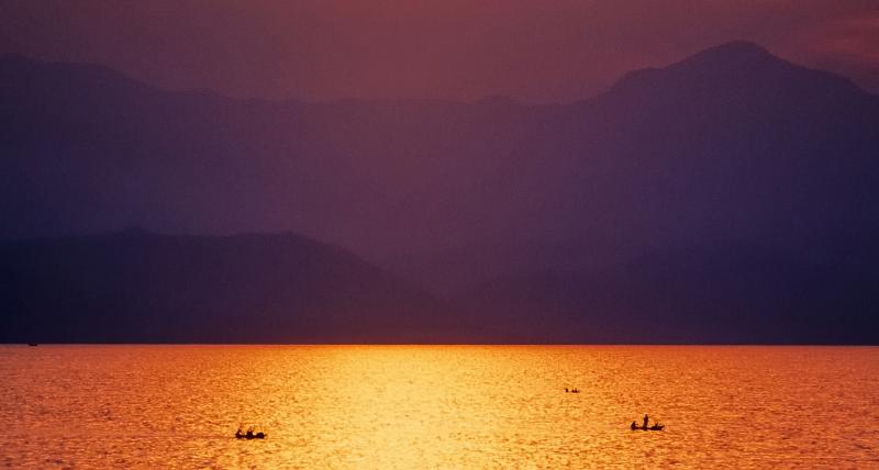 Lago Kivu (Repubblica Democratica del Congo, Ruanda)