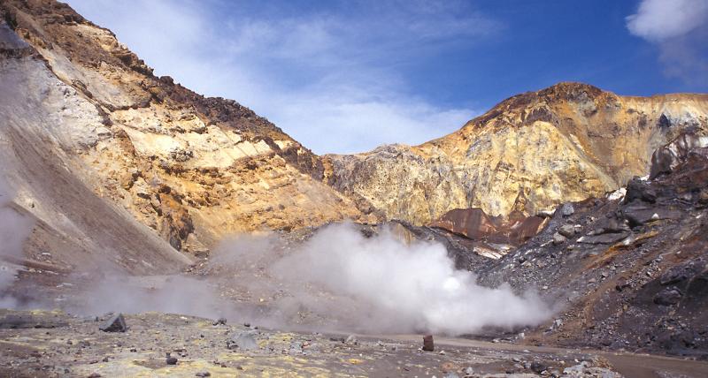 Valle della Morte in Kamchatka (Russia)