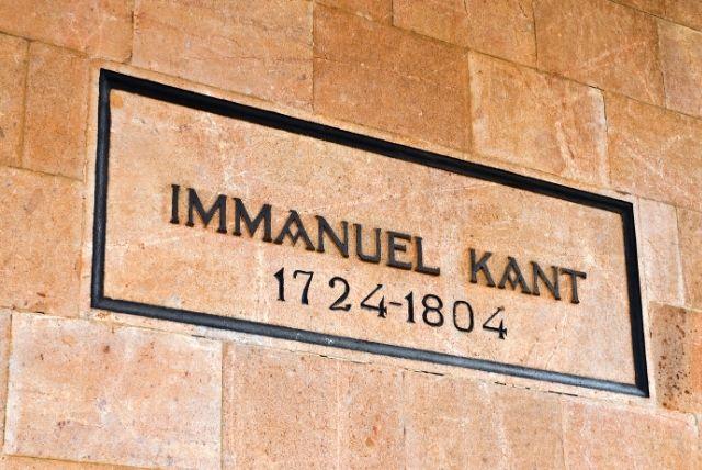 Kant kaliningrad mann